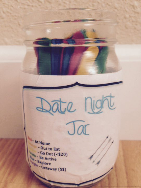 Date Night Jar Amy Wass